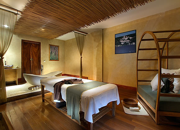 single room at Bamboo Spa by L'OCCITANE