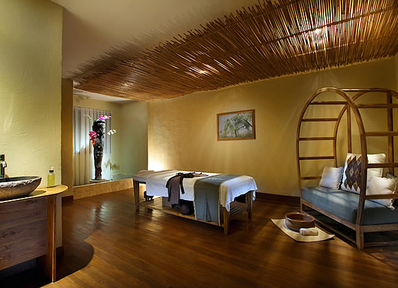 spa room at bamboo spa by L'OCCITANE