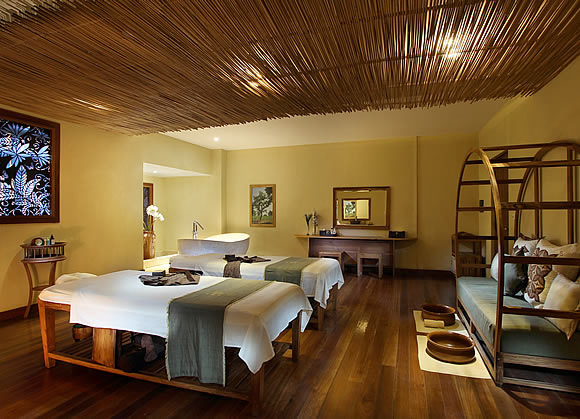 double room at Bamboo Spa by L'OCCITANE